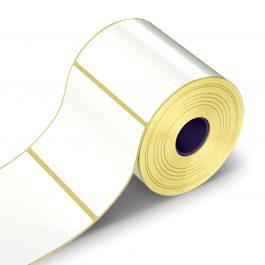 Lipnios etiketės, 1-100×51/40-1000 etik., Vellum, baltos sp.