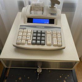 Datecs MP-55 PLUS (naudotas) su stalčiuku