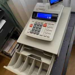 Datecs DP-55 PLUS (naudotas) su stalčiuku